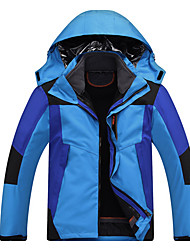 Men's Hiking Jacket Waterproof Windproof Anti-Insect Breathable Windbreakers Softshell Jacket Tops for Camping / Hiking Downhill Team