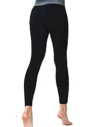 Pantaloni da yoga Calze/Collant/Cosciali Traspirante Comodo Naturale Elastico Abbigliamento sportivo Per donna Yoga Pilates