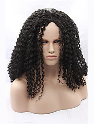Long Black Synthetic Curly Lace Front Wigs Good Quality For Black Women Best Natural Looking Cheap Heat Resistant Synthetic Wigs