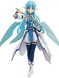 Figuras de Ação Anime Inspirado por Sword Art Online Fantasias Anime Acessórios de Cosplay figura Azul PVC