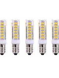 7W E14 LED Mais-Birnen T 75 SMD 2835 1000 lm Warmes Weiß Kühles Weiß AC220 V 5 Stück