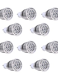 7W GU10 Точечное LED освещение 7 SMD 3030 650-700 lm Тёплый белый / Холодный белый Декоративная V 10 шт.