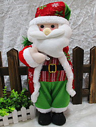 1PC Christmas Decorations Santa Backpack Christmas Supplies Christmas Window Decoration Christmas Ornaments