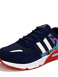 Men's Athletic Shoes Spring / Summer / Fall / Winter Comfort Canvas / Fleece Outdoor / Athletic / Casual Low Heel Lace-up Black / Blue