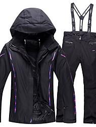 Trilha Conjuntos de Roupas/Ternos Mulheres Impermeável / Mantenha Quente / A Prova de Vento / Anti-Estático / Grossa / Confortável Inverno
