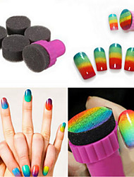 5 The Sponge Nail Gradient Sponge Necessary Tools Nail Polish Sponge Seal The Gradient Auxiliary Tool