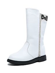 Girl's Boots Spring / Fall / Winter Others Leather Outdoor / Dress / Casual Sparkling Glitter Black / Red / White Others