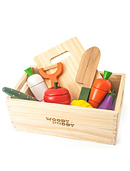 Brinquedos de Faz de Conta / Brinquedos Magnéticos / Brinquedo Educativo Modelo e Blocos de Construção Brinquedos Madeira Arco-ÍrisPara