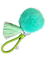 Key Chain Leisure Hobby Toys Circular Metal Green For Girls