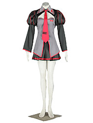 Vocaloid Hatsune Miku Anime Cosplay Costumes Coat / Skirt / Tie / Bra / Headpiece / Stockings Kid