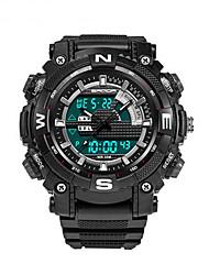 Мужской Спортивные часы / Армейские часы / Смарт-часы / Модные часы / Наручные часы Цифровой / Японский кварцLED / Секундомер / Защита от