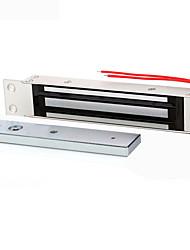 -Porta único sistema de controle de acesso 280 kg fechaduras magnéticas eletromagnética incorporado eletrônico