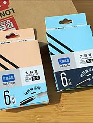 universal tinta azul tinta sac (6pcs)