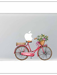 Pink Bike Decorative Skin Sticker for MacBook Air/Pro/Pro with Retina