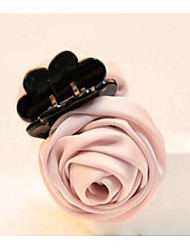 Women Fabric Hair Clip,Casual