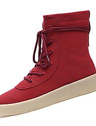 Для мужчин Ботинки Удобная обувь Армейские ботинки Полиуретан Осень Зима Атлетический Повседневные Удобная обувь Армейские ботинки