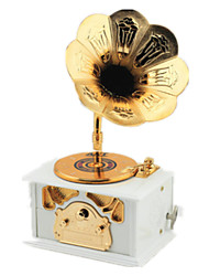 Music Box Plastic White Leisure Hobby Music Toy