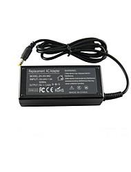 19v 3.42a 65w portable chargeur adaptateur d'alimentation CA pour Toshiba p300 L450 m800 L670D C660 l650 l700 a300 a500 L655 5.5 * 2.5mm