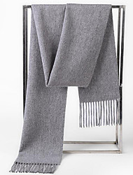 Women Faux Fur Scarf,Casual RectangleSolid