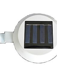3 Led solaire Clôture Gutter lumière extérieure de yard de jardin mur Sentier Lamp (cis-57155)