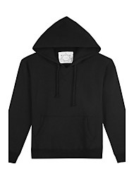 Trenduality® Men's Round Neck Long Sleeve Hoodie & Sweatshirt Black / Light Gray / Dark Gray - 57006