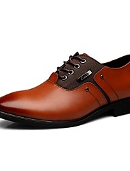 Men's Oxfords /Winter Style/ Warm Shoes/Comfort Leather Office & Career / Business Style