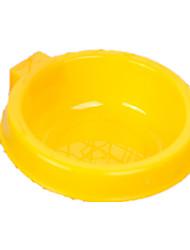 Cat / Dog Feeders Pet Bowls & Feeding Portable Random Color Plastic