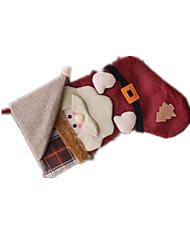 Decoração Brinquedos Originais Ternos de Papai Noel Tecido / Algodão Para Meninos / Para Meninas 8 a 13 Anos