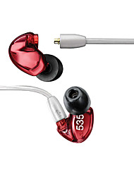 Beevo SE535 Canal Earbuds (In Ear Canal)ForMedia Player/Tablet / Mobile Phone / ComputerWithDJ / FM Radio / Gaming / Sports /