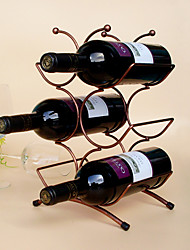 Винные стеллажи Чугун,22*15*34CM Вино Аксессуары