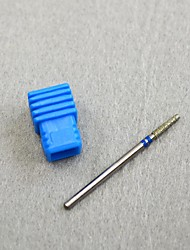 1PCS Diamond Burr Drill Bit Nails 3/32 High Quality Electric Nail Art Cleaning Remove Cuticle Manicure Accessory L0201D