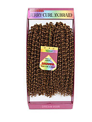 3 Pieces/lot 300G Jerry Curly Human Hair Weaves Brazilian Texture 10inch deep curly Human Hair Extensions kinky curly hair blundles
