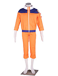 Naruto Anime Cosplay Costumes Coat / Pants Kid