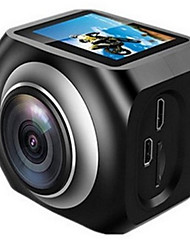 YS-360VR Sports Action Camera 20MP 4608 x 3456 WiFi / Adjustable / wireless / Wide Angle 30fps No ±2EV No CMOS 32 GB H.264Single Shot /
