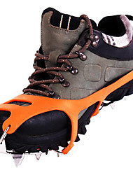 acier inoxydable crampons / neige glace grab / glace chaussures d'escalade / dix-huit dents neige griffe