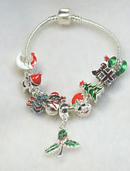 Bracelet Bracelets de rive Alliage / Cuivre / Strass / Plaqué argent Others Mode / Personnalisé Quotidien / Décontracté Bijoux Cadeau