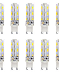 3.5 G9 LED à Double Broches T 104 SMD 3014 330-350 lm Blanc Chaud / Blanc Froid Etanches AC110-220 V 10 pièces