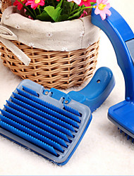 Cat / Dog Grooming Clipper & Trimmer Pet Grooming Supplies Massage / Soft Blue Rubber / Plastic