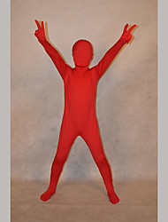 Festival/Holiday Costumes Red Solid Zentai Kid Lycra Fully Covered