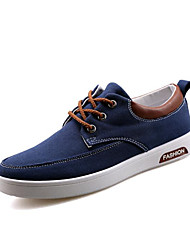 Men's Athletic Shoes Spring / Summer / Fall / Winter Platform / Comfort Canvas / Polyester Outdoor / Athletic / Casual Low Heel Others