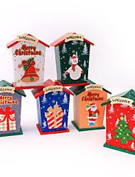 Natal piggy decoração desktop banco