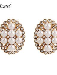 Boucle Cristal / Perle imitée Boucles d'oreille goujon Bijoux Femme Halloween / Mariage / Soirée / Quotidien / DécontractéCristal /