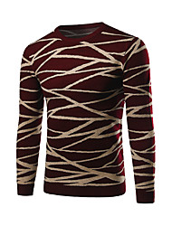 Men's Casual/Daily / Work Simple Regular Pullover
