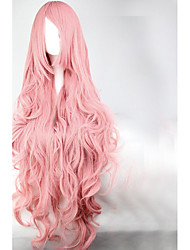 Lolita Wigs Sweet Lolita Princess Long Pink Lolita Wig 90 CM Cosplay Wigs Solid Wig For Women