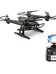 JXD 506w 2.4GHz 4 канала 6 оси гироскопа RC Quadcopter РТФ - черный и зеленый