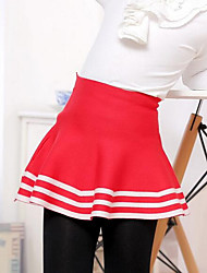 Girl Casual/Daily Striped Skirt-Polyester Winter / Fall