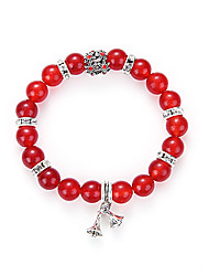 Europe And The United States Sell Like Hot Cakes Natural Red Agate Pendant Beads Bracelet Hand Bell Series Of Foreign Trade Act The Role Ofing Is Tast