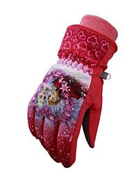 Ski-Handschuhe Vollfinger Damen / Herrn Sporthandschuhe warm halten / Antirutsch / Wasserdicht Handschuhe Snowboarding Polyester Winter