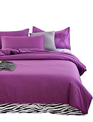 Mingjie Wonderful Purple Bedding Sets 4PCS for Twin Full Queen King Size from China Contian 1 Duvet Cover 1 Flatsheet 2 Pillowcases