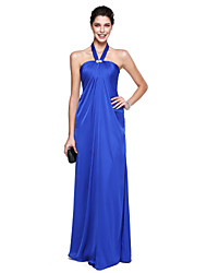 TS Couture® Formal Evening Dress A-line Halter Floor-length Chiffon with Crystal Detailing